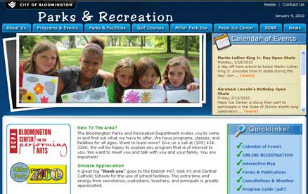 Bloomington Parks & Recreation