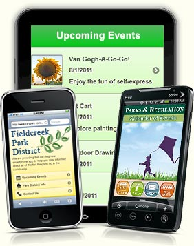 RecCentric™ Mobile Website & SmartPhone solutions for Parks